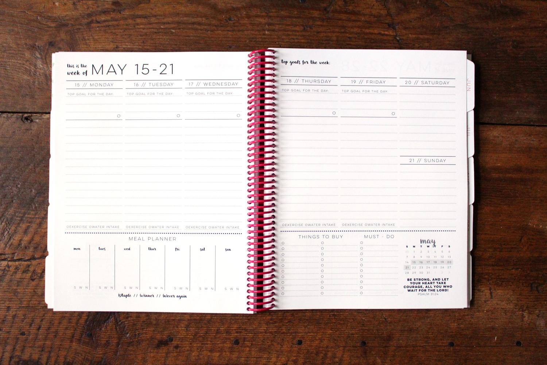 The best planner for an organized life --Jitney's Journeys Agenda