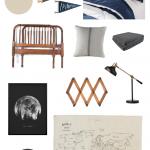 Vintage Modern Boys Bedroom Inspiration | ORC Week 1